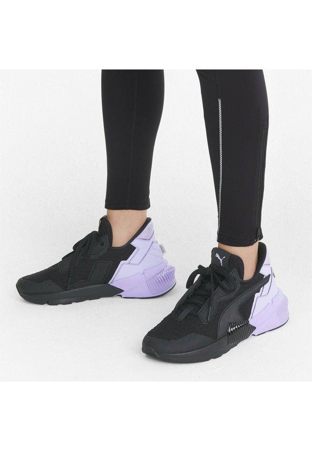 Sneaker low - puma black/light lavender