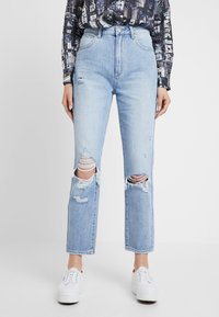 Abrand Jeans - HIGH - Straight leg jeans - wildlife - 0