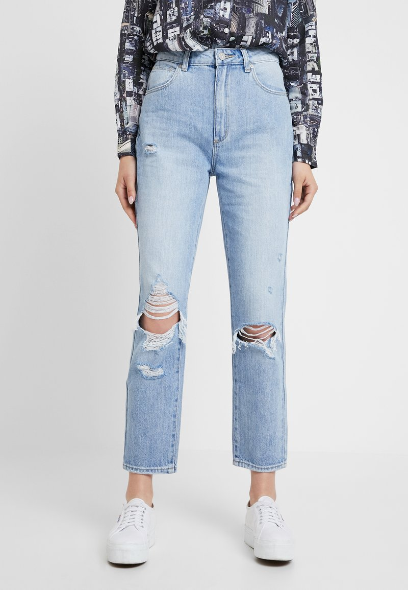 Abrand Jeans - HIGH - Straight leg jeans - wildlife