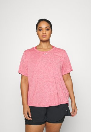 ONE PLUS - Basic T-shirt - archaeo pink/heather/white