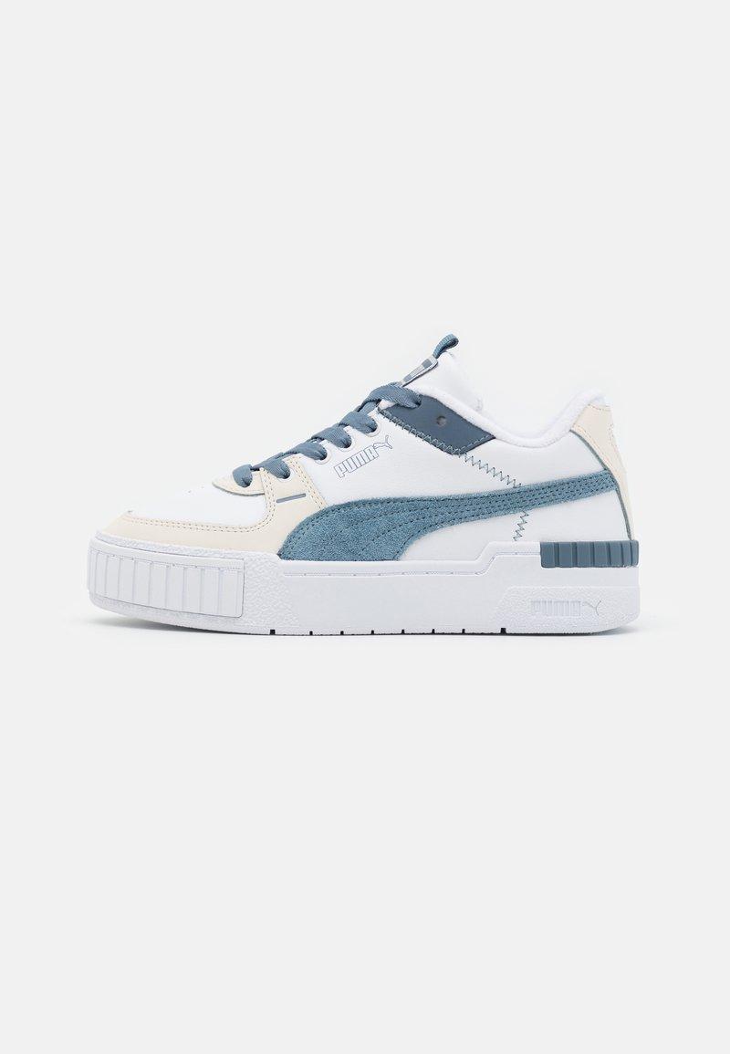 Puma - CALI SPORT FROSTED HIKE - Baskets basses - white/china blue/vaporous gray