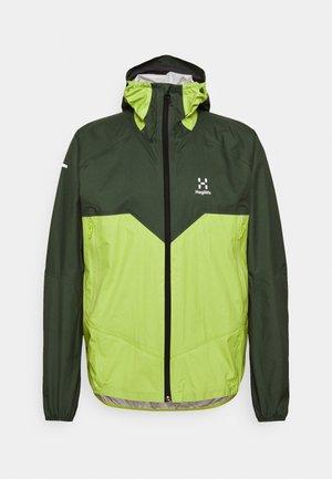 PROOF MULTI JACKET MEN - Hardshell jacket - fjell green/sprout green