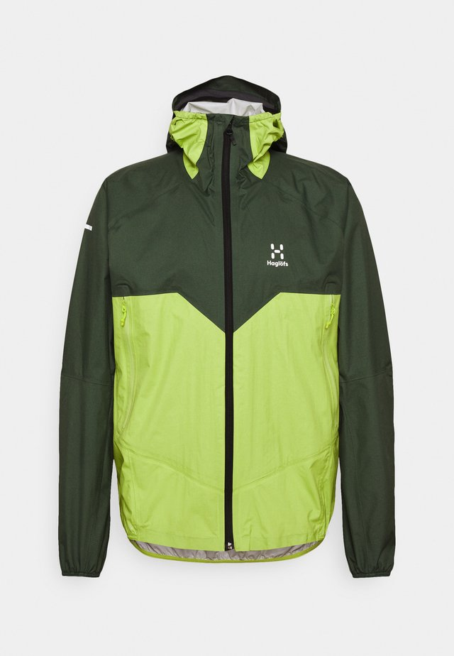 PROOF MULTI JACKET MEN - Veste Hardshell - fjell green/sprout green