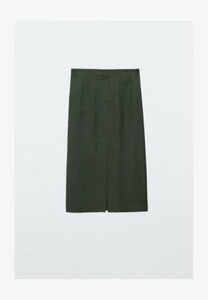Pencil skirt - evergreen