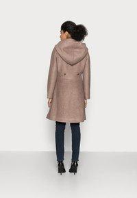 Cream - ANNABELL COAT - Classic coat - faded brown melange - 2