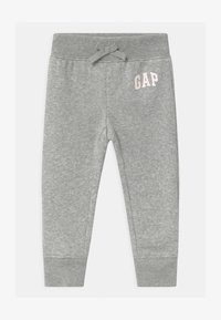 GAP - TODDLER GIRL LOGO - Broek - light heather grey - 0