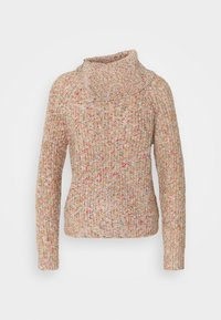 ONLY - ONLLYNN LIFE ZIP - Jumper - mineral red/multicolor - 0
