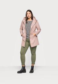 ONLY Carmakoma - CARSEDONA LIGHT COAT - Short coat - mocha mousse - 1