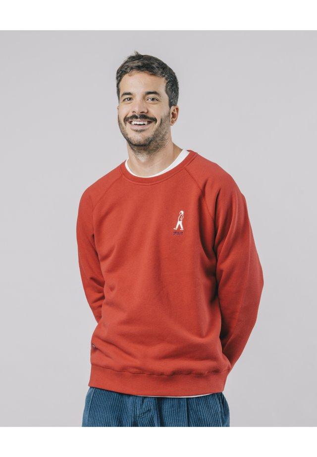 AKITO WALKING - Sweater - red