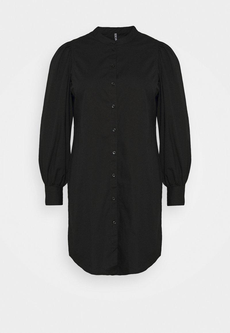 Pieces Curve - PCFONNIEN - Shirt dress - black