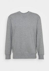 SLHJASON CREW NECK - Collegepaita - medium grey melange