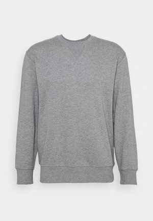 SLHJASON CREW NECK - Felpa - medium grey melange