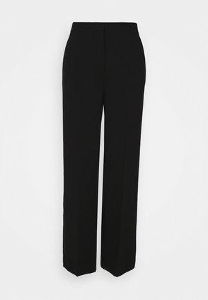 MOORE PANTS - Trousers - black