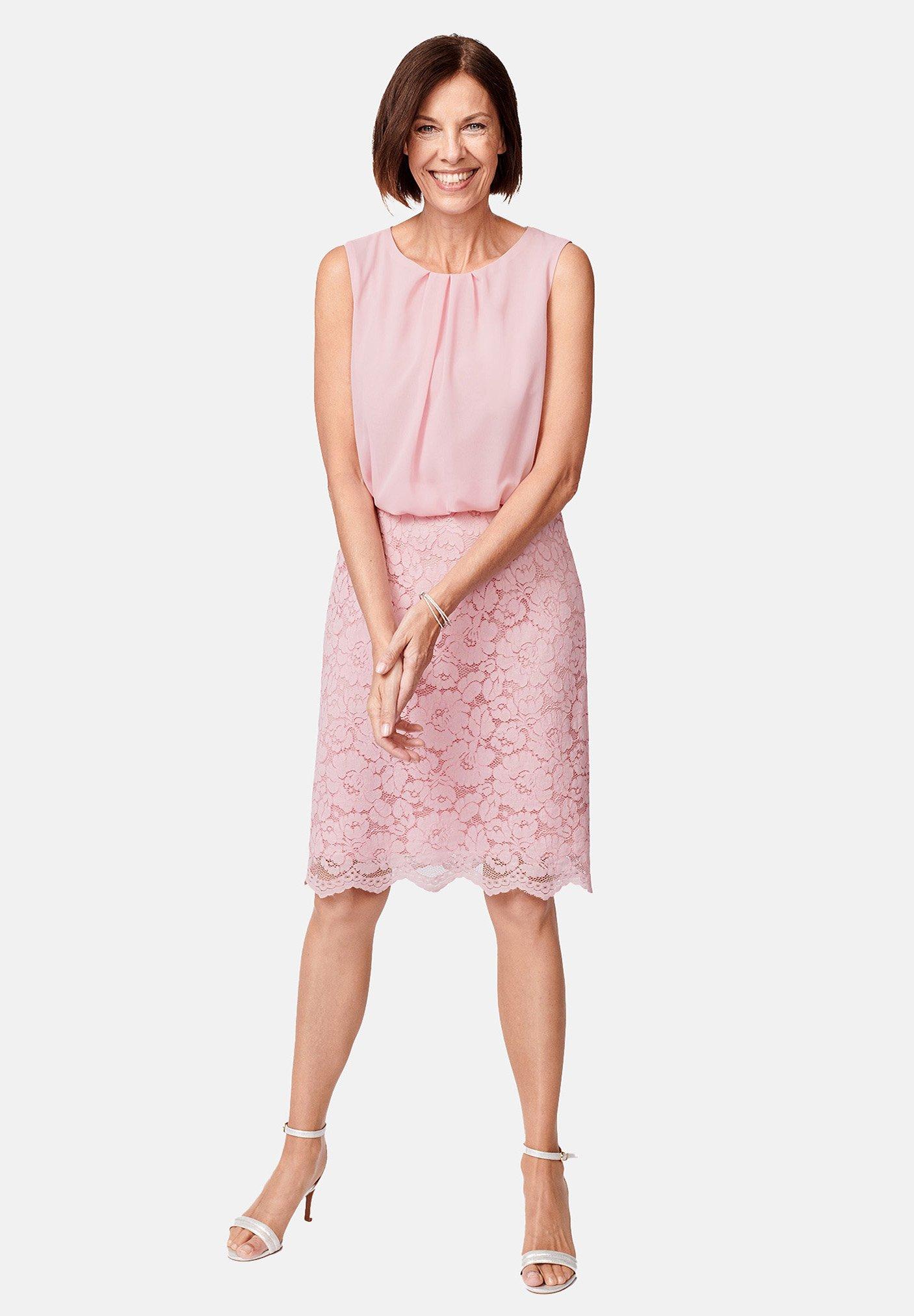 Hermann Lange Audrey Cocktailkleid Festliches Kleid Pink Rosa Zalando De