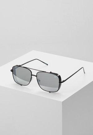 Sunglasses - matt black/silver-coloured