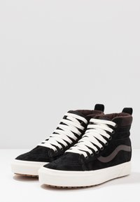 Vans - SK8 MTE UNISEX - High-top trainers - black/chocolate torte - 2