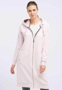DreiMaster - Zip-up hoodie - powder pink melange - 0