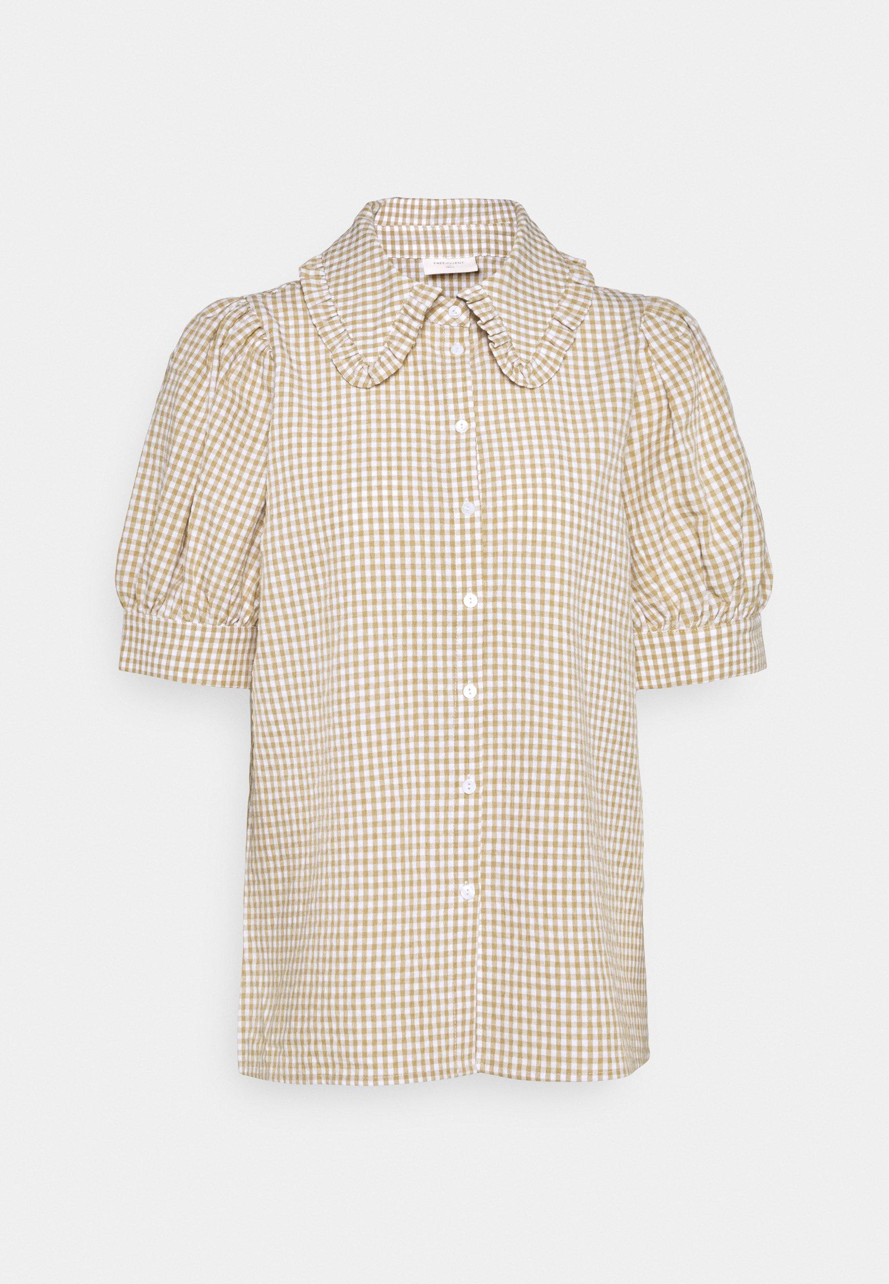 Women GINGHAM - Button-down blouse