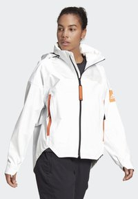 adidas Performance - MYSHELTER URBAN RAIN.RDY OUTDOOR - Waterproof jacket - white - 4