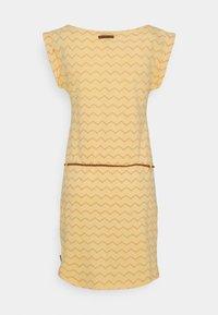 Ragwear - TAG CHEVRON - Žerzejové šaty - yellow - 7