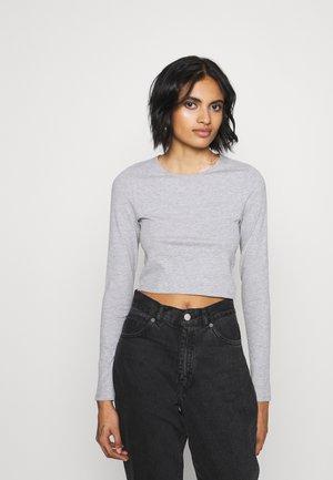 LINN - Långärmad tröja - grey melange