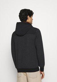 s.Oliver - Zip-up hoodie - black - 3