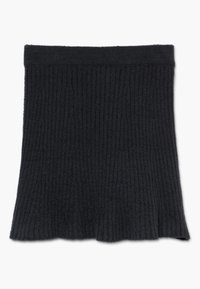 Abercrombie & Fitch - MATCH SKIRT - Áčková sukně - open black - 1