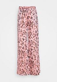 Milly - LEOPARD STRIPE BURNOUT - Kalhoty - pink/multi - 4