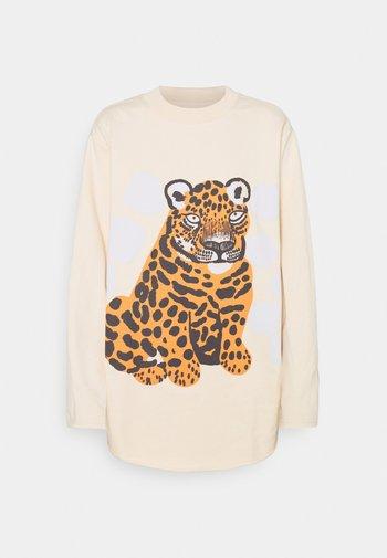 HIIRENVIRNA KAKSOSET - Sweatshirt - light beige/off white/grey