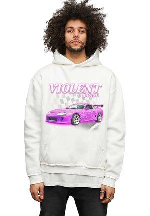 RACING - Hoodie - off white