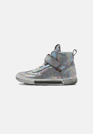 STRIKE TEX - High-top trainers - grey/silver