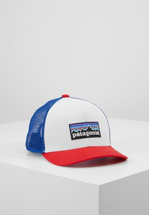 TRUCKER HAT UNISEX - Cap - white/red/dark blue