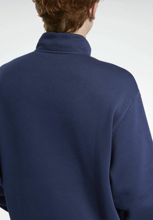 Reebok Classic CLASSIC TEAMSPORTS CASUAL PULLOVER - Bluza - blue/niebieski Odzież Męska RQEZ