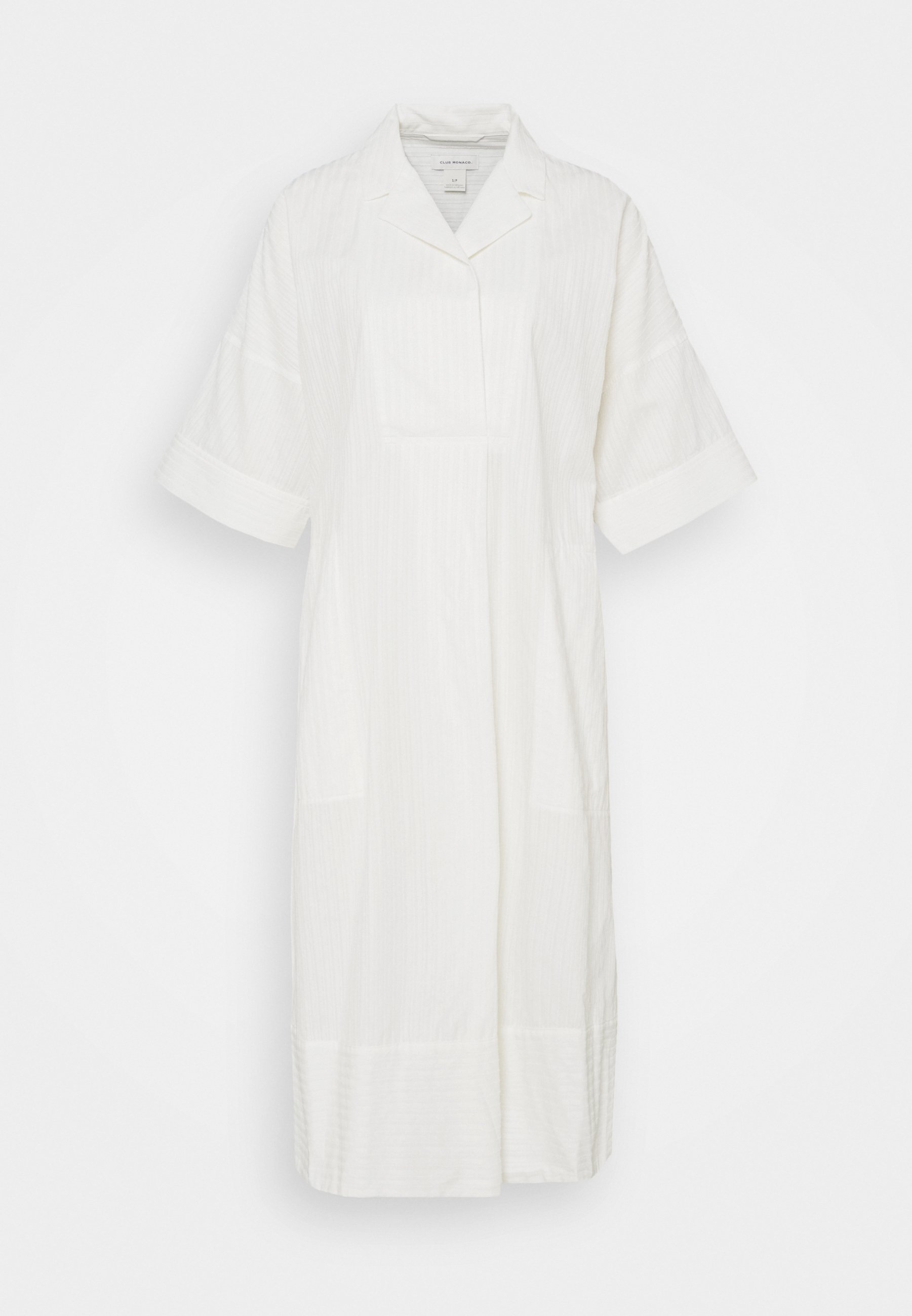 Femme TEXTURED SHIRT DRESS - Robe chemise