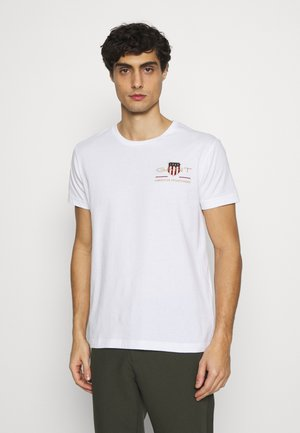 ARCHIVE SHIELD - T-shirt print - white