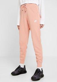 Nike Sportswear - PANT TIGHT - Tracksuit bottoms - pink quartz/white - 0