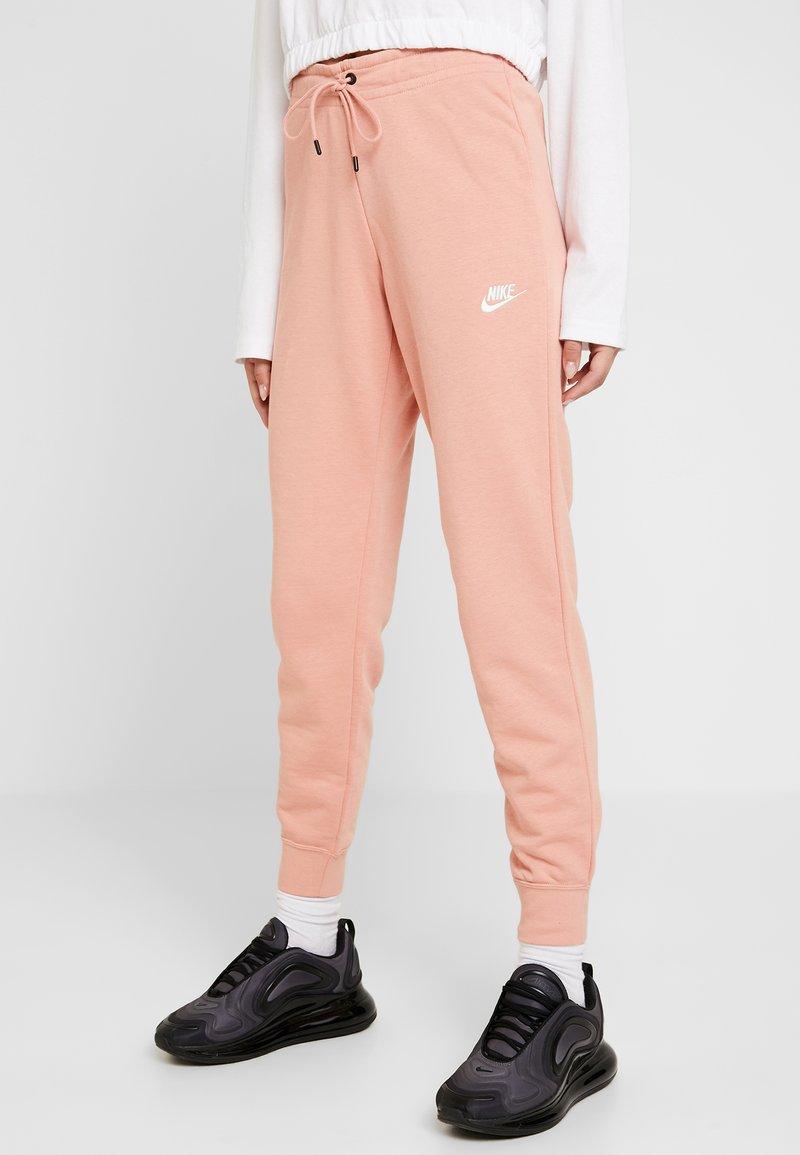 Nike Sportswear - PANT TIGHT - Tracksuit bottoms - pink quartz/white