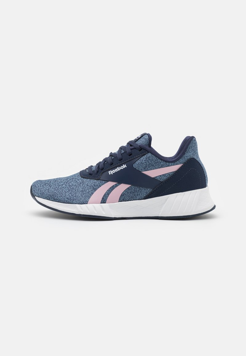Reebok - LITE PLUS 2.0 - Neutral running shoes - vector navy/blue/clay pink