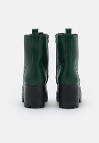 Koi Footwear - VEGAN GIN - Platform ankle boots - khaki - 3