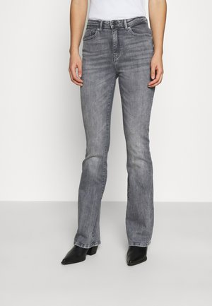 ONLPAOLA LIFE FLARE - Flared jeans - medium grey denim