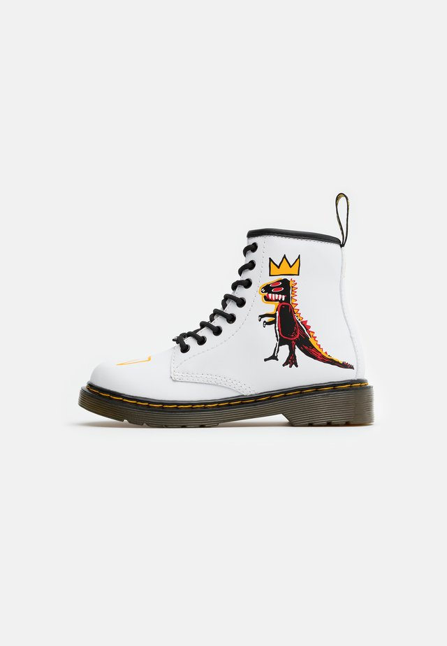 1460 BASQUIAT - Lace-up ankle boots - white
