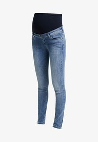 Supermom - DAMAGED - Jeans Skinny Fit - blue denim - 4