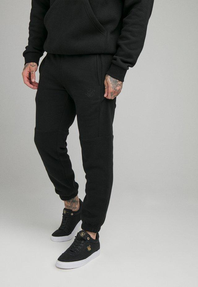 ELASTIC CUFF PANT - Verryttelyhousut - black