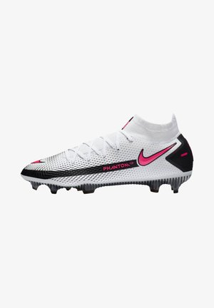 PHANTOM GT ELITE DY - Moulded stud football boots - weiss/pink