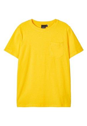 LMTD T-SHIRT BRUSTTASCHEN - T-shirt - bas - lemon