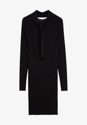MELODY - Vestido de punto - noir