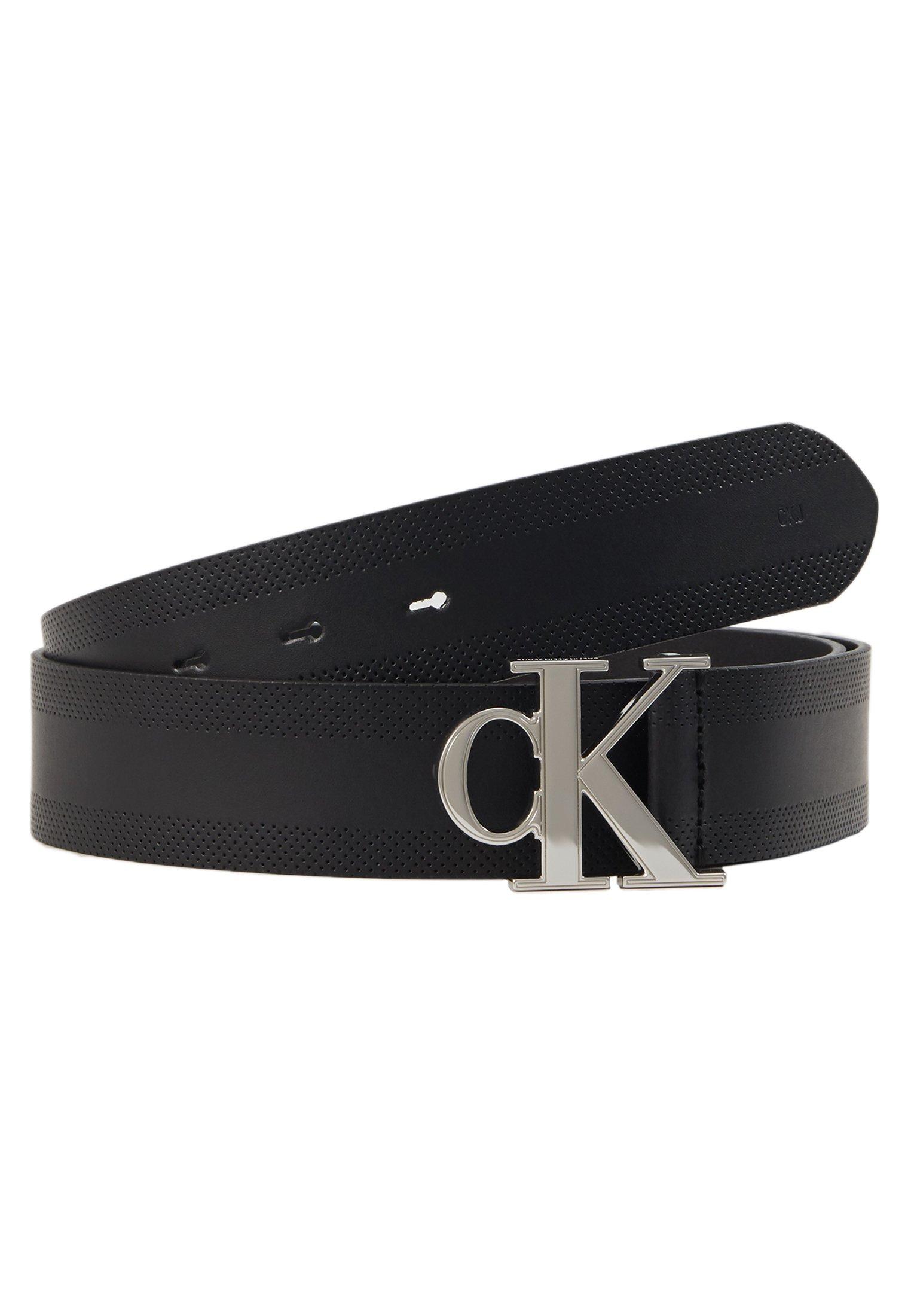 Calvin Klein Jeans GYM CLASS MONOGRAM 35MM - Belte - black