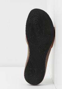 Scholl - BAHAMAIS - Slippers - bronze - 6