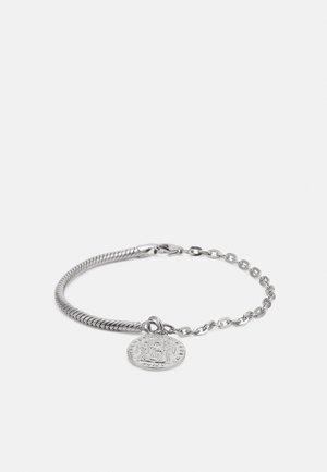 OLD COIN BRACELET UNISEX - Bracelet - silver
