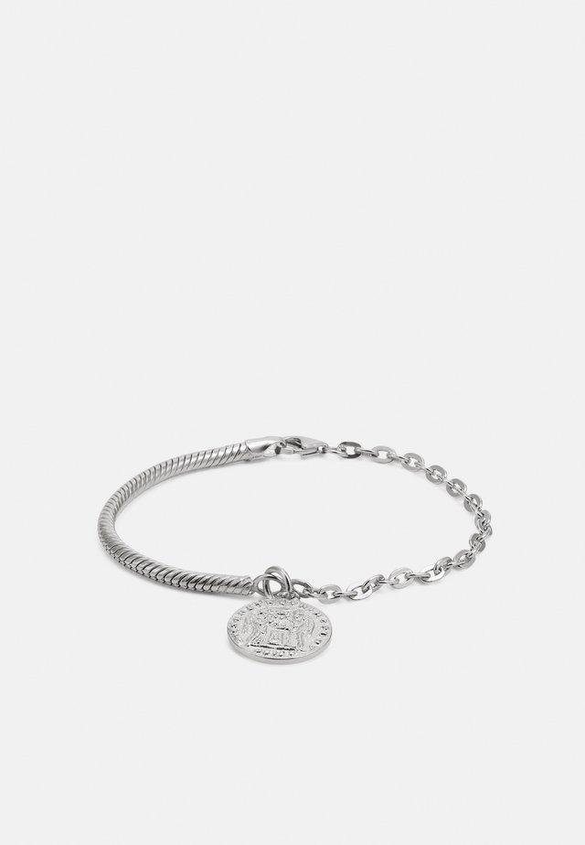 OLD COIN BRACELET UNISEX - Armband - silver